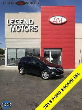 2018 Ford Escape for sale at Legend Motors of Detroit - Legend Motors of Ferndale in Ferndale MI