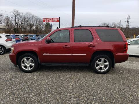 2010 Chevrolet Tahoe for sale at 220 Auto Sales in Rocky Mount VA