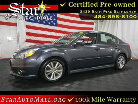 2013 Subaru Legacy for sale at STAR AUTO MALL 512 in Bethlehem PA