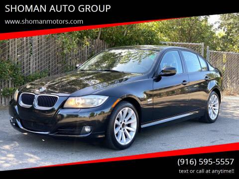 2011 BMW 3 Series for sale at SHOMAN MOTORS in Davis CA