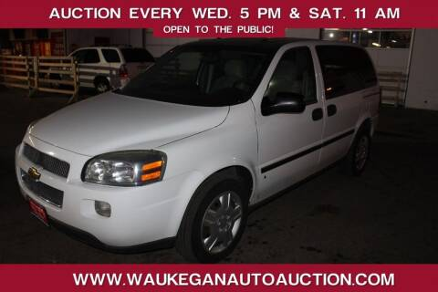2008 Chevrolet Uplander for sale at Waukegan Auto Auction in Waukegan IL