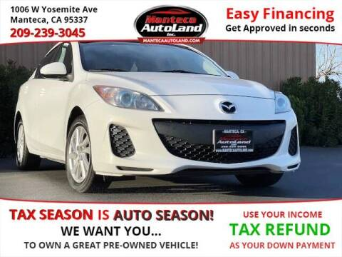 2012 Mazda MAZDA3 for sale at Manteca Auto Land in Manteca CA