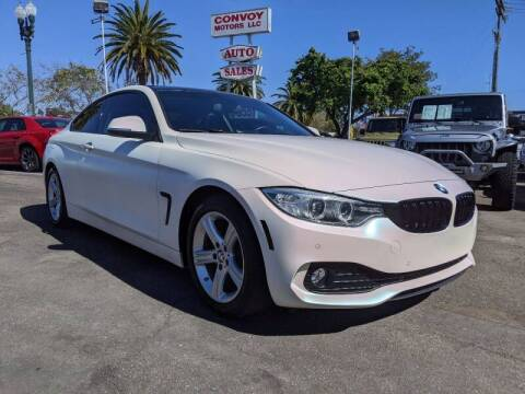 2014 BMW 4 Series for sale at Convoy Motors LLC in National City CA