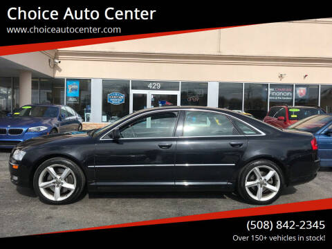 2008 Audi A8 for sale at Choice Auto Center in Shrewsbury MA