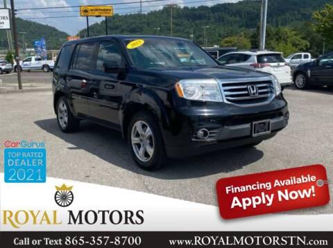 2013 Honda Pilot for sale at ROYAL MOTORS LLC in Knoxville TN