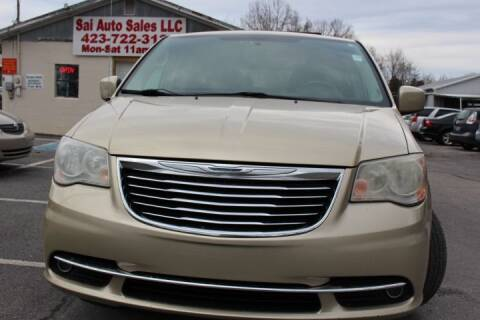2012 Chrysler Town and Country for sale at SAI Auto Sales - Used Cars in Johnson City TN