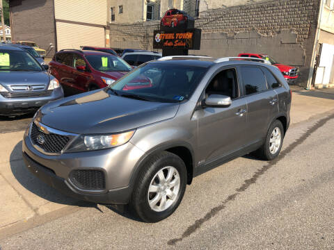 2013 Kia Sorento for sale at STEEL TOWN PRE OWNED AUTO SALES in Weirton WV