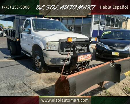 2005 Ford F-350 Super Duty for sale at TOP YIN MOTORS in Mount Prospect IL