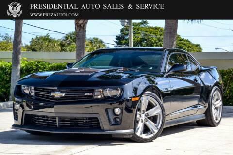 2014 Chevrolet Camaro for sale at Presidential Auto  Sales & Service in Delray Beach FL