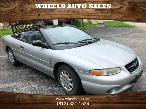 2000 Chrysler Sebring for sale at Wheels Auto Sales in Bloomington IN
