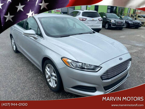 2016 Ford Fusion for sale at Marvin Motors in Kissimmee FL