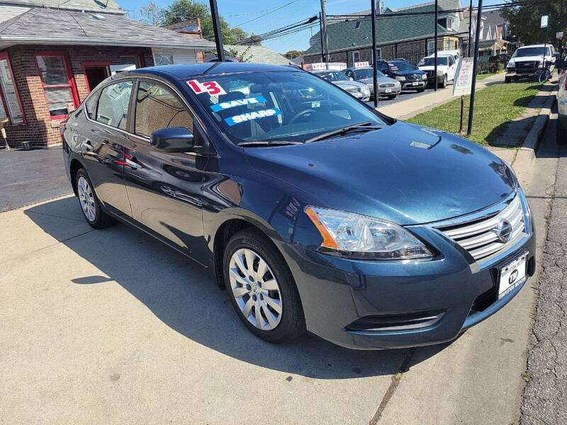 2013 Nissan Sentra for sale at TEMPLETON MOTORS in Chicago IL