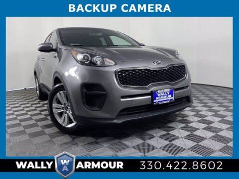 2018 Kia Sportage for sale at Wally Armour Chrysler Dodge Jeep Ram in Alliance OH