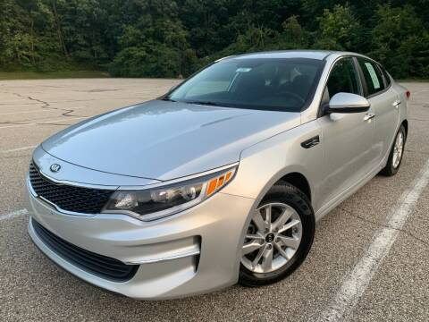 2018 Kia Optima for sale at Lifetime Automotive LLC in Middletown OH