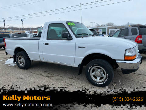 1998 Ford Ranger for sale at Kelly Motors in Johnston IA