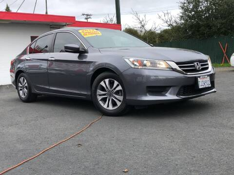 2013 Honda Accord for sale at Redwood City Auto Sales in Redwood City CA