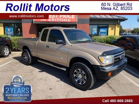 1999 Toyota Tacoma for sale at Rollit Motors in Mesa AZ