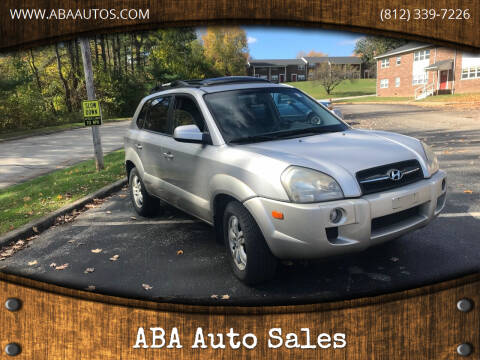 2006 Hyundai Tucson for sale at ABA Auto Sales in Bloomington IN