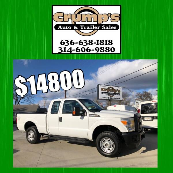 2014 Ford F-250 Super Duty for sale at CRUMP'S AUTO & TRAILER SALES in Crystal City MO