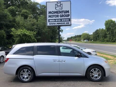 2011 Honda Odyssey for sale at Momentum Motor Group in Lancaster SC