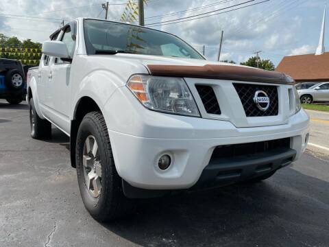 2012 Nissan Frontier for sale at Auto Exchange in The Plains OH