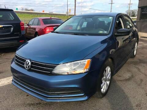 2015 Volkswagen Jetta for sale at Luxury Unlimited Auto Sales Inc. in Trevose PA
