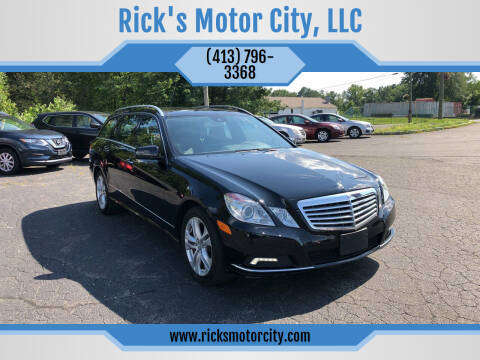 2011 Mercedes-Benz E-Class for sale at Rick's Motor City, LLC in Springfield MA