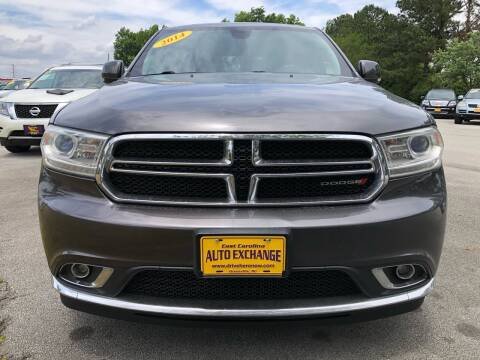 2014 Dodge Durango for sale at East Carolina Auto Exchange in Greenville NC