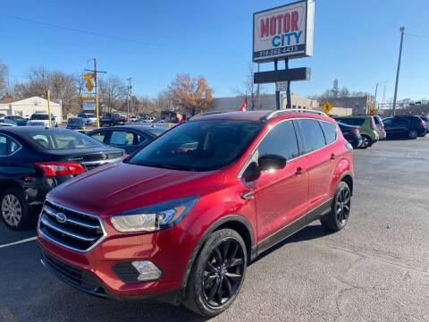 2018 Ford Escape for sale at Motor City Sales in Wichita KS