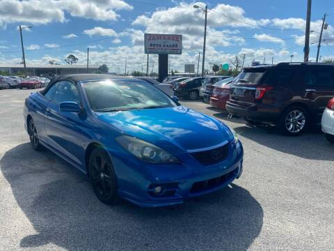 2008 Toyota Camry Solara for sale at Jamrock Auto Sales of Panama City in Panama City FL