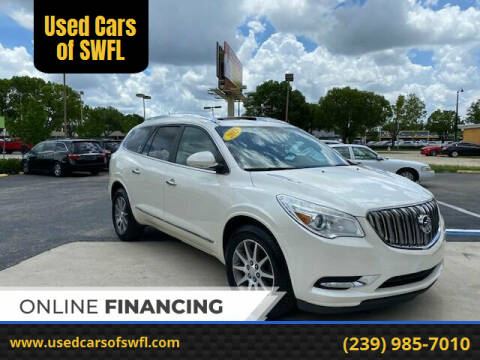 2013 Buick Enclave for sale at Used Cars of SWFL in Fort Myers FL
