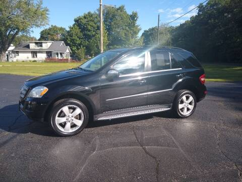 2010 Mercedes-Benz M-Class for sale at Depue Auto Sales Inc in Paw Paw MI