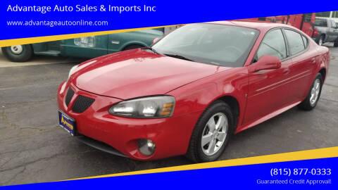 2006 Pontiac Grand Prix for sale at Advantage Auto Sales & Imports Inc in Loves Park IL