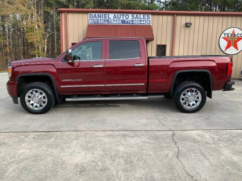 2015 GMC Sierra 2500HD for sale at Daniel Used Auto Sales in Dallas GA