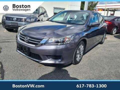 2013 Honda Accord for sale at Boston Volkswagen in Watertown MA