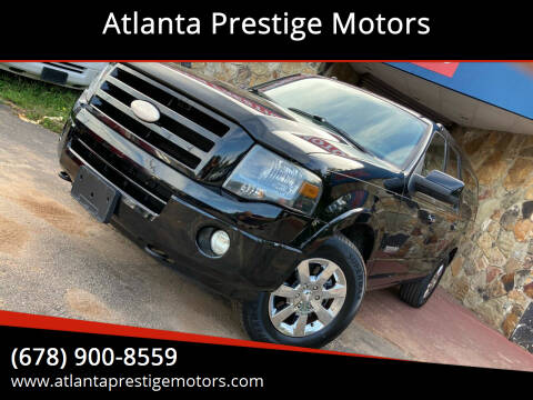 2008 Ford Expedition EL for sale at Atlanta Prestige Motors in Decatur GA