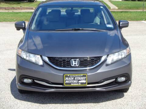 2014 Honda Civic for sale at MAIN STREET MOTORS in Norristown PA