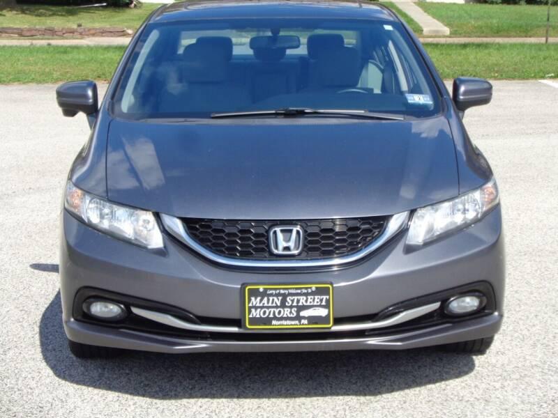2014 Honda Civic for sale at MAIN STREET MOTORS in Norristown PA