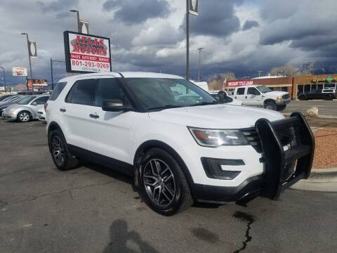 2017 Ford Explorer for sale at ATLAS MOTORS INC in Salt Lake City UT