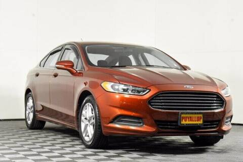 2014 Ford Fusion for sale at Chevrolet Buick GMC of Puyallup in Puyallup WA