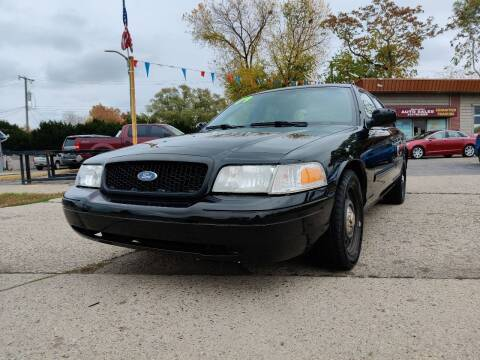 2009 Ford Crown Victoria for sale at Lamarina Auto Sales in Dearborn Heights MI
