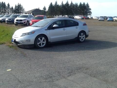 2012 Chevrolet Volt for sale at Garys Sales & SVC in Caribou ME