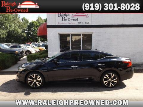 2016 Nissan Maxima for sale at Raleigh Pre-Owned in Raleigh NC