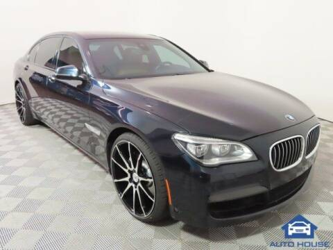2013 BMW 7 Series for sale at Autos by Jeff Scottsdale in Scottsdale AZ