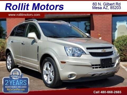 2014 Chevrolet Captiva Sport for sale at Rollit Motors in Mesa AZ