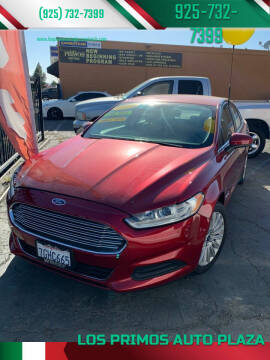 2014 Ford Fusion Hybrid for sale at Los Primos Auto Plaza in Antioch CA