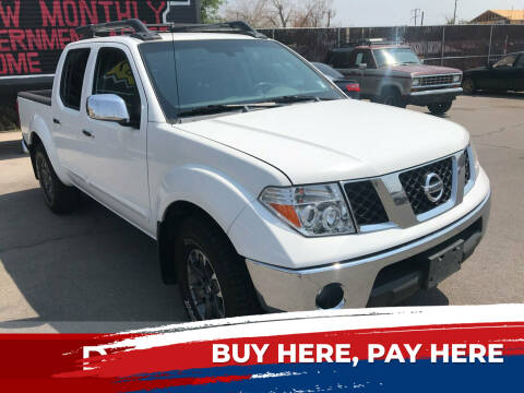 2005 Nissan Frontier for sale at Rock Star Auto Sales in Las Vegas NV
