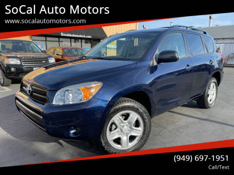 2006 Toyota RAV4 for sale at SoCal Auto Motors in Costa Mesa CA