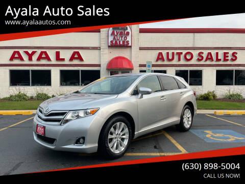 2014 Toyota Venza for sale at Ayala Auto Sales in Aurora IL