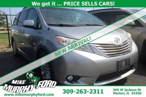 2012 Toyota Sienna for sale at Mike Murphy Ford in Morton IL